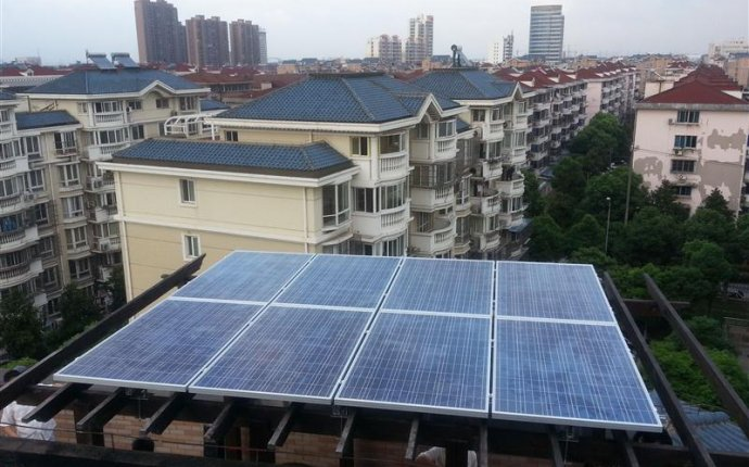 China 10kw Home Solar Power System for Flat Roof Photos & Pictures