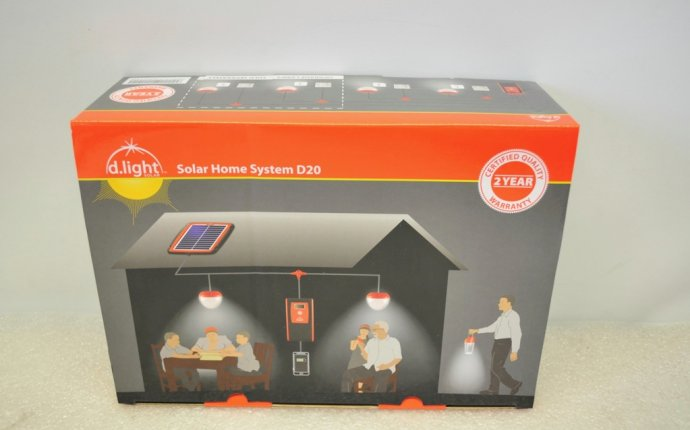 D Light D20 Solar Home System Camping Mobile Phone Charging LED