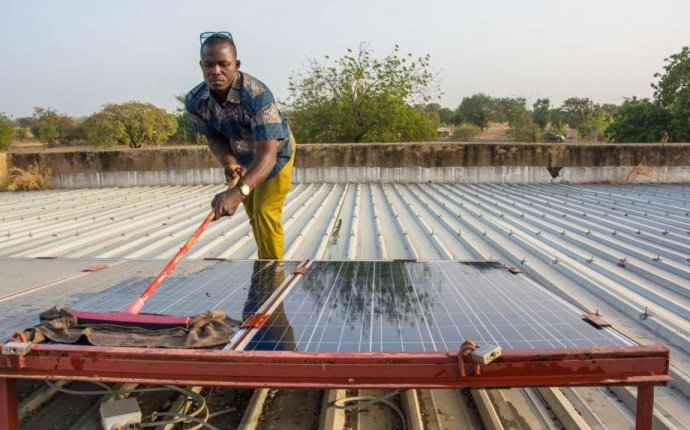 From Bethel to Burkina Faso: Locals install solar power system in