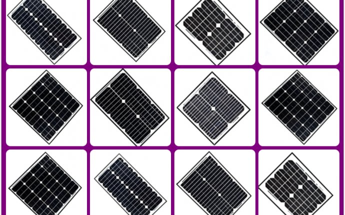 Good price popular poly 40w 12v small solar panel kits for home