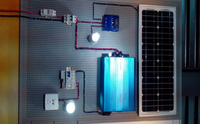 How To Build A Solar Panel Power System - Solar Panel