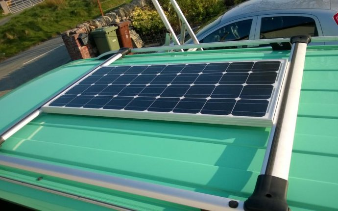 Installation of Solar Panel fitted to Roof bars - VW T4 Forum - VW