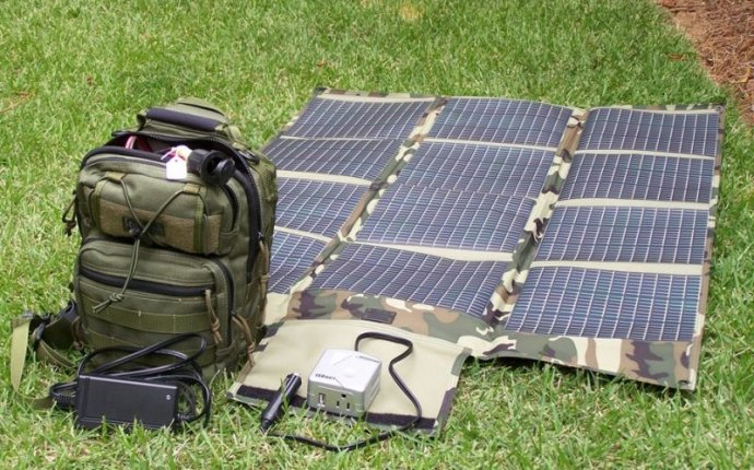 LFP17 Sling Pack Portable Solar Power System