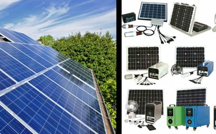 Solar Panel and Mini Solar Power System