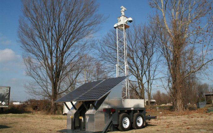 Solar Powered Audio & Video Surveillance System