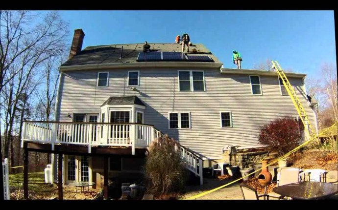 SolarCity Installation of Solar Panels - YouTube