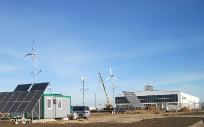 Wind Turbine With Solar Panel For Home, Wind Turbine With Solar