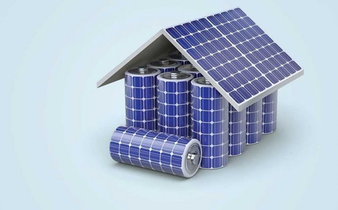 Solar panels and Batteries system