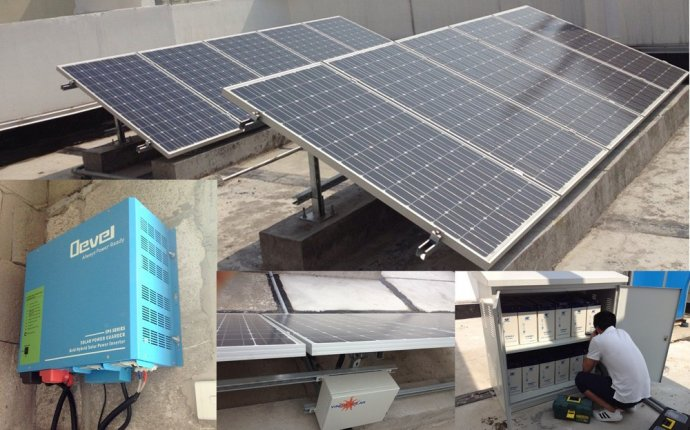 Solar Lighting system for House