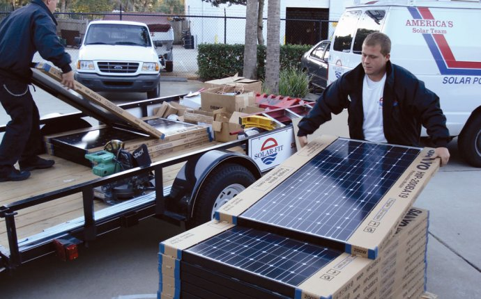 Solar electric system Packages