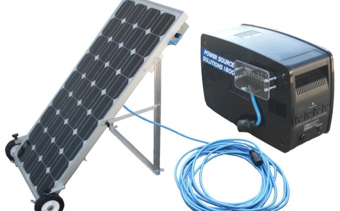 Solar power backup system