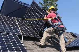 Views Of Home Solar Panel Installation